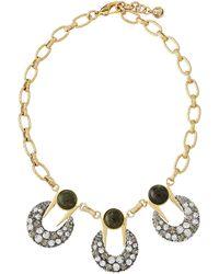 Lulu Frost - Laumiere Triple Pendant Necklace - Lyst