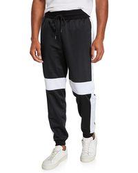 2xist Men's Retro Varsity Colorblocked Track Pants