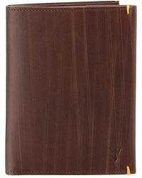 Würkin Stiffs - Wood-inspired Rfid Blocking Leather Bifold Travel Wallet - Lyst