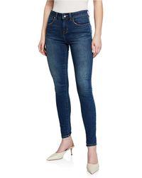 Karen Millen - Mid-rise Skinny Jeans - Lyst