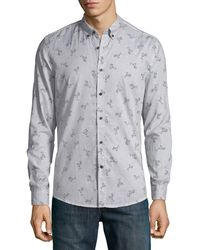 Antony Morato - Men's Slim-fit Cocktail-print Sport Shirt - Lyst