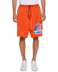 DSquared² - K-way Draw-cord Shorts - Lyst