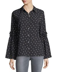 Waverly Grey - Kyle Button-front Blouse - Lyst