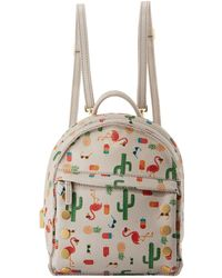 Hammitt - Shane Frankie Cactus Printed Leather Backpack - Lyst