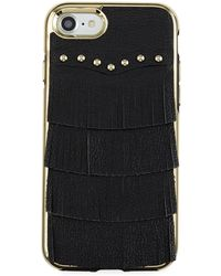 Rebecca Minkoff - Fringe Leather Studded Iphone 7 Case - Lyst