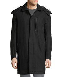 Marc New York - Boulevard Coat W/ Removable Hood - Lyst