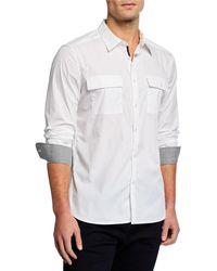 Kenneth Cole - Men's Dynamic Long-sleeve Sport Shirt - Lyst