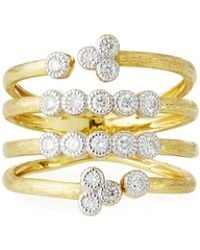 Jude Frances - 18k Provence Open Diamond Bezel Ring - Lyst