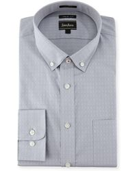 Neiman Marcus | Xtrim Fit Dobby Dot Dress Shirt | Lyst