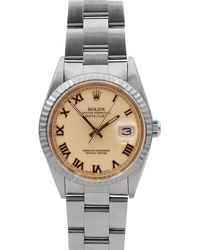 Rolex - Pre-owned 31mm Datejust Oyster Automatic Watch - Lyst