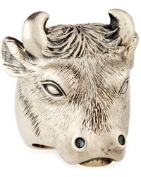 Theo Fennell - Alias Bull Beastie Statement Ring - Lyst