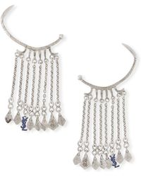 Saint Laurent - Marrakech Dangle Ear Cuffs - Lyst