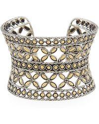 John Hardy - Kawung Flower Cuff Bracelet - Lyst
