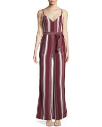 Lovers + Friends - Charisma V-neck Wide-leg Jumpsuit - Lyst