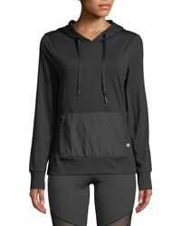Marika Tek - Eclipse Stretch Hoodie With Front Pocket - Lyst