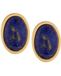 Stephanie Kantis | Blue Lapis Nugget Stone Earrings | Lyst