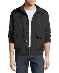 Jared Lang - Men's Button-front Military Jacket - Lyst