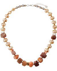 Nakamol - Chunky Stone & Crystal Necklace - Lyst