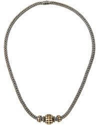John Hardy - Three-bead Dot Chain Necklace - Lyst