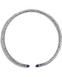 John Hardy | Choker Necklace With Malachite | Lyst
