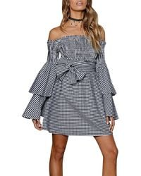 StyleKeepers - Disco Fever Off-the-shoulder Dress - Lyst