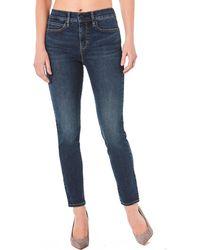 Nicole Miller - Soho High-rise Skinny Jeans Blue - Lyst