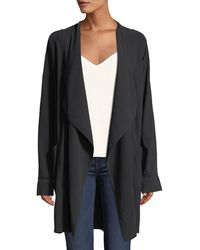 Go> By Go Silk - Go Over Silk Open-front Jacket - Lyst