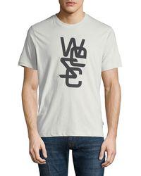 Wesc - Men's Overlay Logo-graphic T-shirt - Lyst