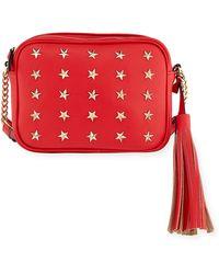 Neiman Marcus - Roz Star-studded Crossbody Bag - Lyst