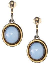 Armenta - Old World Chalcedony Drop Earrings - Lyst