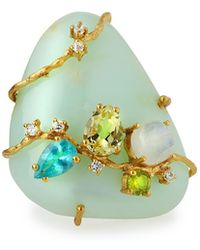 Indulgems - Multi-gemstone Cocktail Ring - Lyst
