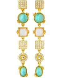 Freida Rothman | Amazonian Allure Linear Drop Earrings | Lyst