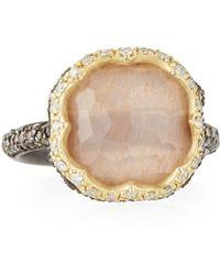 Armenta - Old World Triplet Quartz & Mixed Diamond Ring Size 6.5 - Lyst