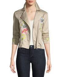 Philosophy - Embroidered Asymmetric Jacket - Lyst