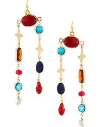 Nakamol - Mixed Stone Dangle Earrings - Lyst