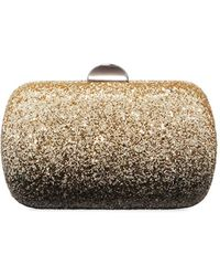 Neiman Marcus - Oval Ombre-glittered Chain-strap Minaudiere Bag - Lyst