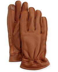 Neiman Marcus - Men's Deerskin Work Gloves - Lyst