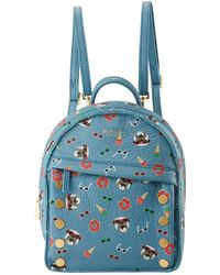 Hammitt - Shane Winnie Dogs Printed Leather Backpack - Lyst
