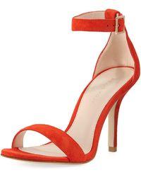 Pelle Moda - Kasey High Dressy Suede City Sandal - Lyst