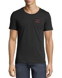 Antony Morato - Men's Heart-size Beaded Jersey T-shirt - Lyst