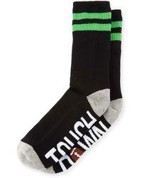 Sockart - Touchdown Typographic Socks - Lyst
