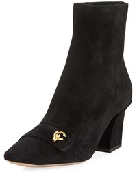 Dior - C'est Suede Ankle Boots - Lyst