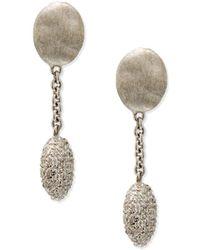 Marco Bicego - Siviglia 18k White Gold Short-drop Earrings - Lyst