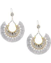 Nakamol - Multi-tassel Fringe Drop Earrings - Lyst