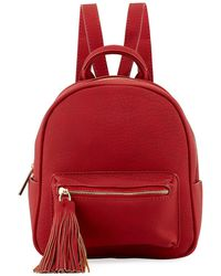 Neiman Marcus | Matte Pebbled Mini Backpack | Lyst