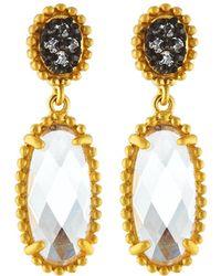 Freida Rothman - Signature Elongated Oval Drop Earrings - Lyst