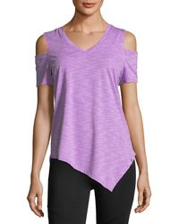 Marc New York   Cold-shoulder Performance Top   Lyst