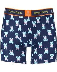 Psycho Bunny Men's Fashion Knit Logo-print Boxer Briefs