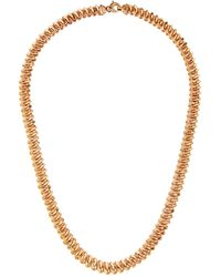Roberto Coin - 18k Rose Gold Curb Chain Necklace - Lyst