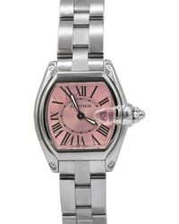 Cartier - Pre-owned 31mm Roadster Bracelet Watch - Lyst
